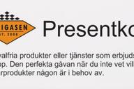Presentkort  10.000 kr